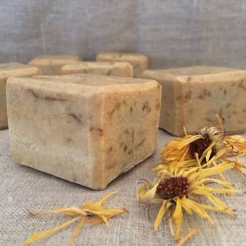 Calendula herbal soap