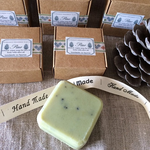 Pine Christmas soap