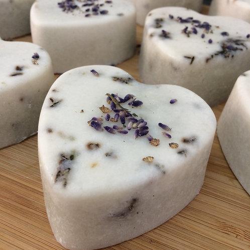 Lavender Heart soap
