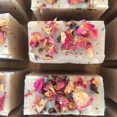 Flower power soap