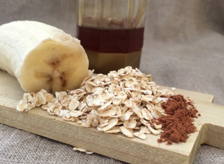 Banana & honey face mask for a natural glow!