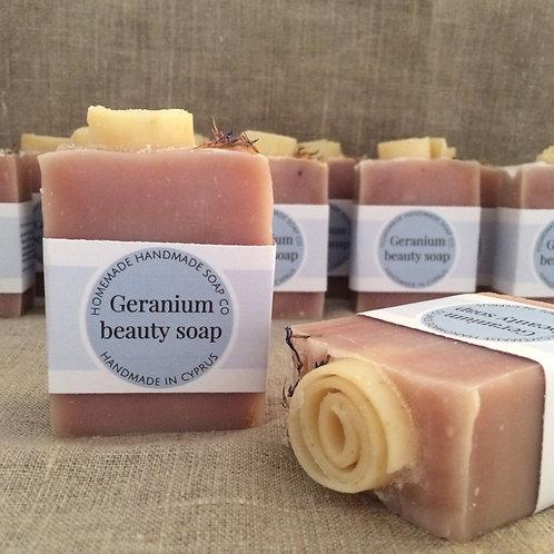 Geranium Beauty soap