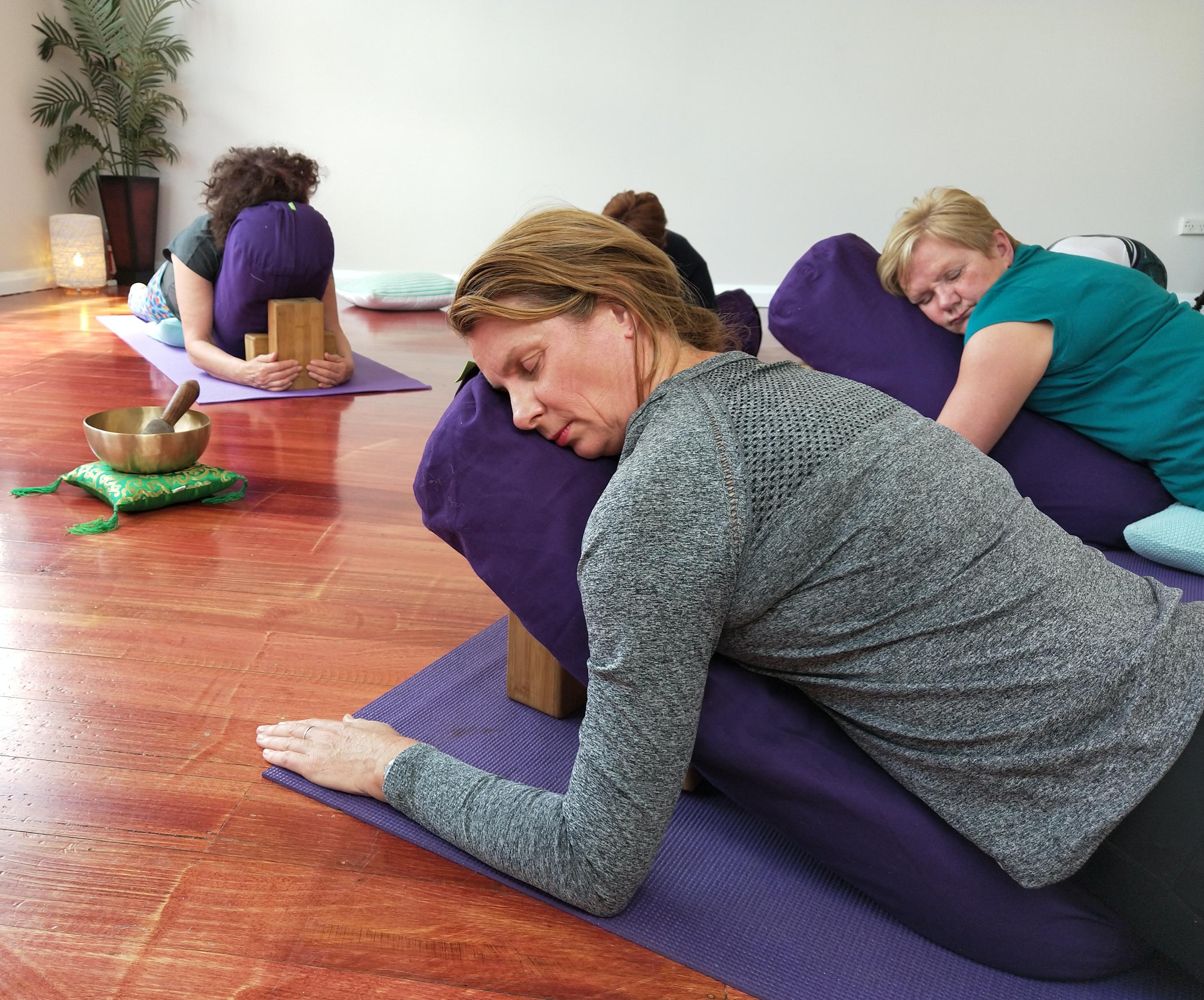 Restorative Yoga - Mondays x 10