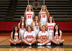 0 - GIRLS JV2 MARCUS HS BASKETBALL 2019.