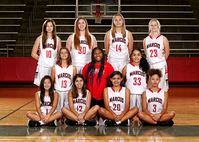 0 - GIRLS FRESHMEN MARCUS HS BASKETBALL
