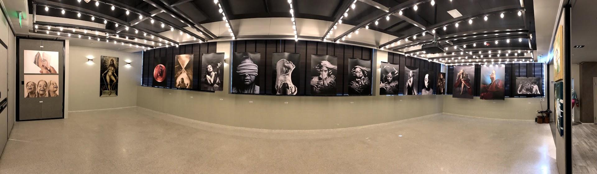 Salão de exposição