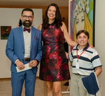 Manu Militâo, Mônica Lopes e Roberto Lemos