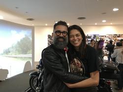 Manu Militão e Mônica Lopes