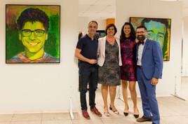 Rinaldo de Oliveira, Beth Manzur, Mônica Lopes e Manu Militão