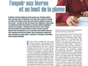 Revue Diocésaine - Quitter son pays Estabrak