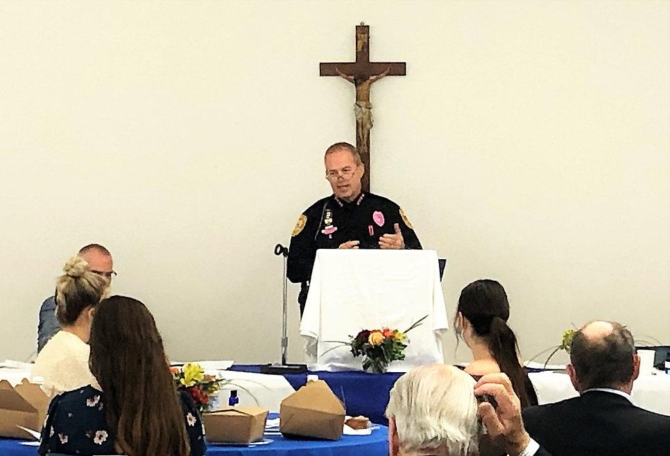 2020 Prayer Breakfast TPD Chief Lawrence