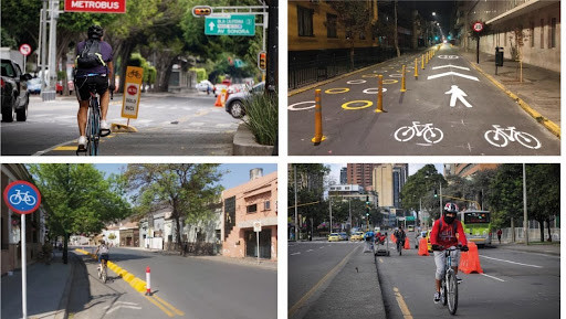 Reclaiming streets from cars: towards a fairer road space distribution in Latin America