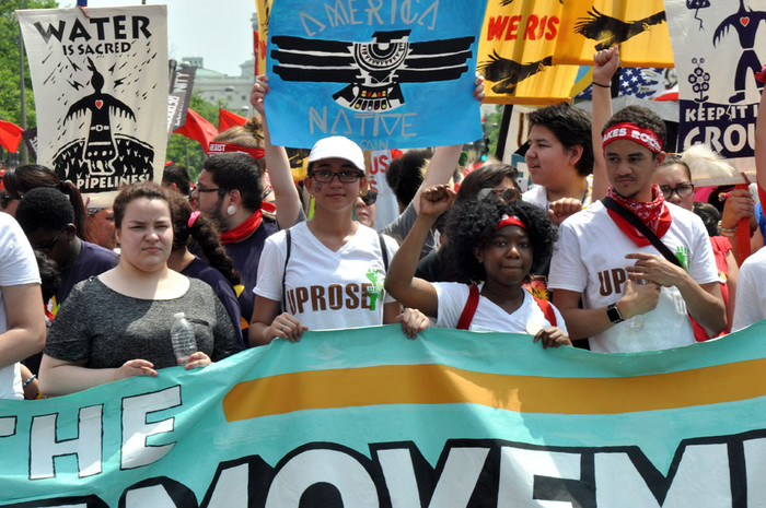 THE PEOPLE'S CLIMATE MARCH AND URBAN RESISTANCE