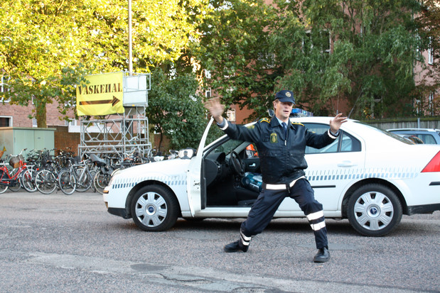 We Are Danish Policemen, We Are Good, Copenhagen Contemporary, Denmark 2010