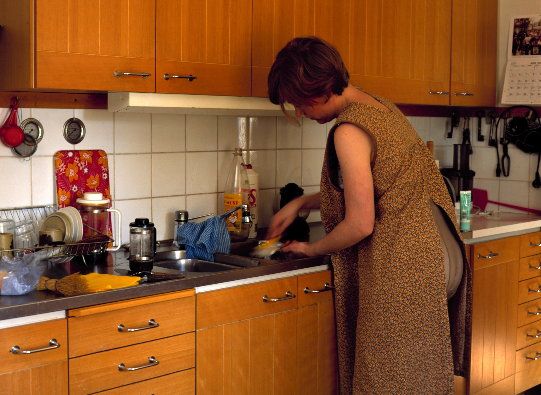Me in My Mother's Clothes: the Kitchen 1999