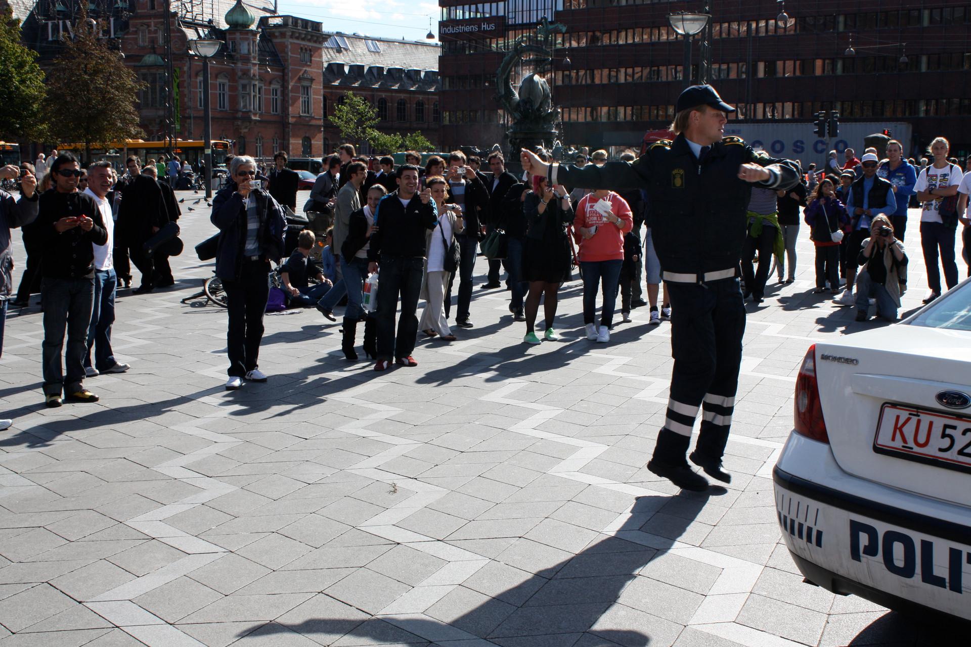 We Are Danish Policemen, We Are Good, Copenhagen Contemporary, Denmark 2010