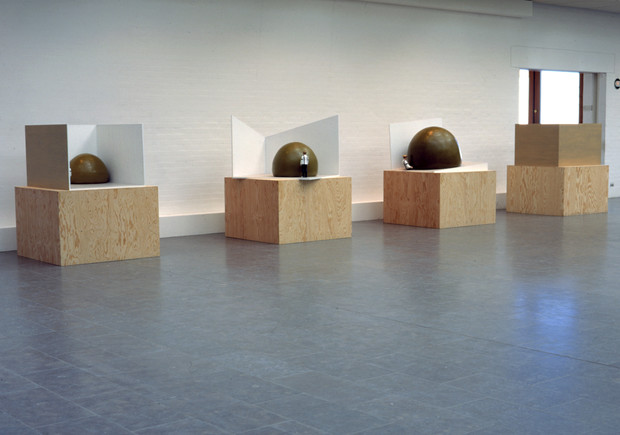 The Threat Does Not Come from Within, The Louisiana Exhibition, Humlebæk Denmark 1997