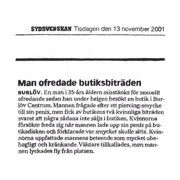 01.11.13. detail from 21 Short Paragraphs2003