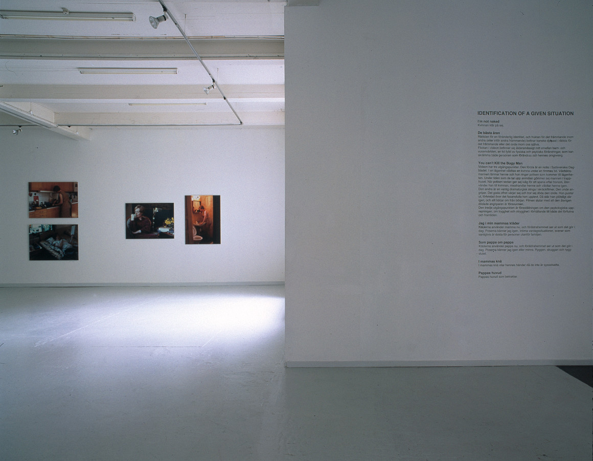 Identification of a Given Situation, Overgaden, Copenhagen 2000