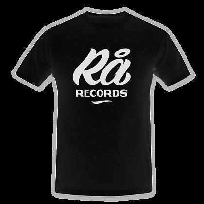Rå Records T-Shirt [Black]