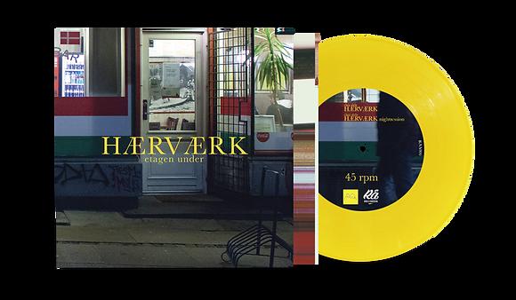 """Etagen Under - Hærværk [7"""" Yellow Vinyl]"""