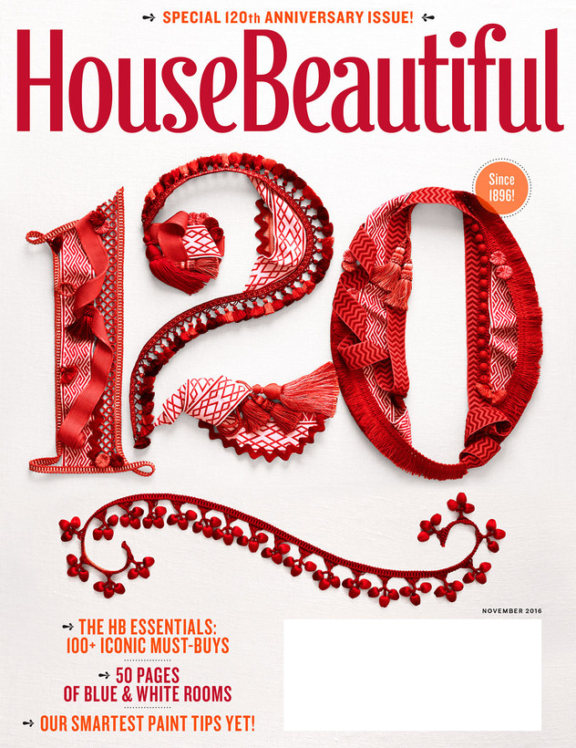 November 2016 House Beautiful Subscriber Cover