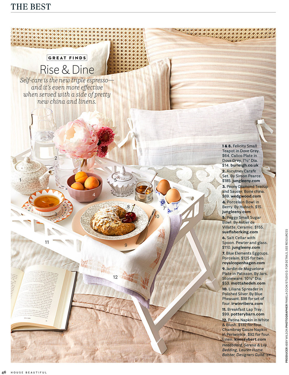 Published in September 2017 House Beautiful