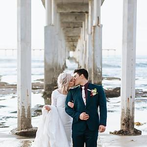 Paige + Jared San Diego Bridals