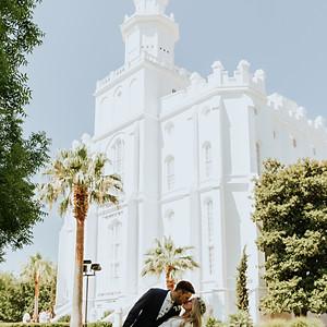 Jamie + Adam Southern Utah Wedding
