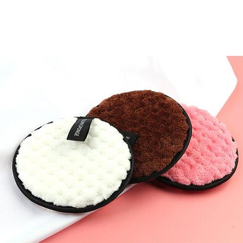 5Pcs Ecofriendly Microfiber Reusable Makeup Remover Pads