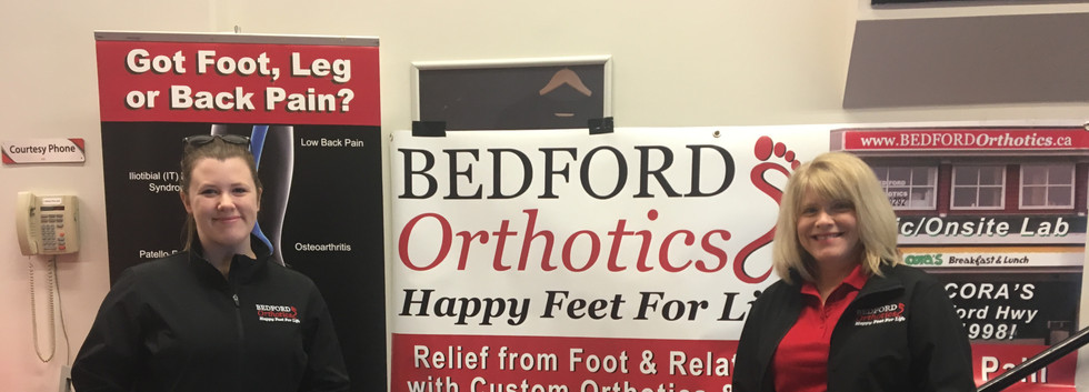 Bedford  Orthotics info Booth