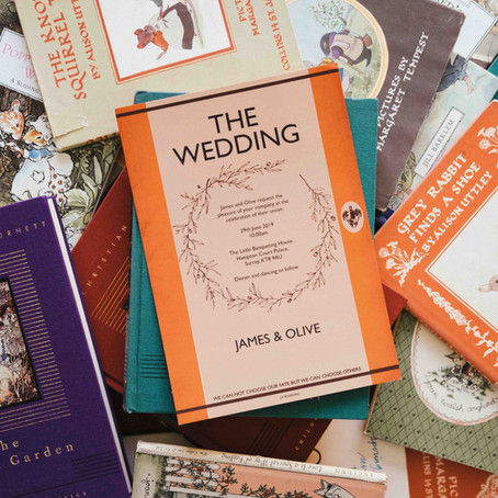13 Amazing Inspirational Wedding Invitations