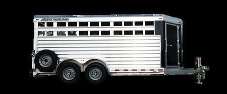 Elite Bumper Pull Stock Combo Aluminum Trailer