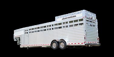 Elite Gooseneck Stock Combo Aluminum Trailer