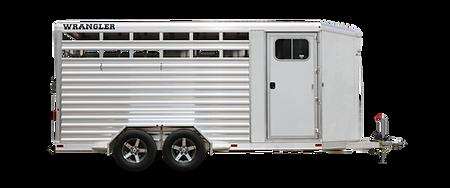 Elite Bumper Pull Wrangler Stock Combo Aluminum Trailer