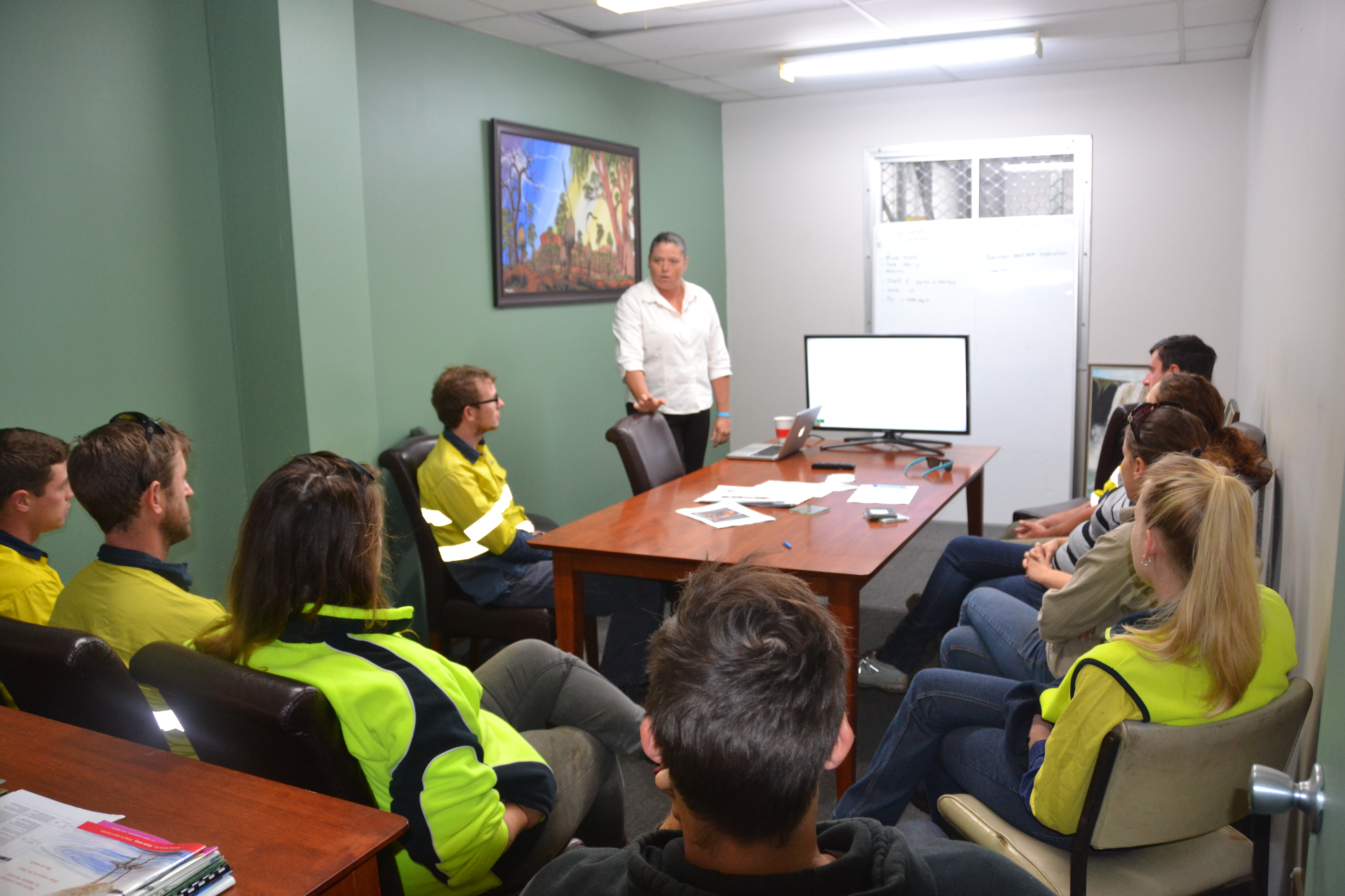 Safety and pre-start meetings