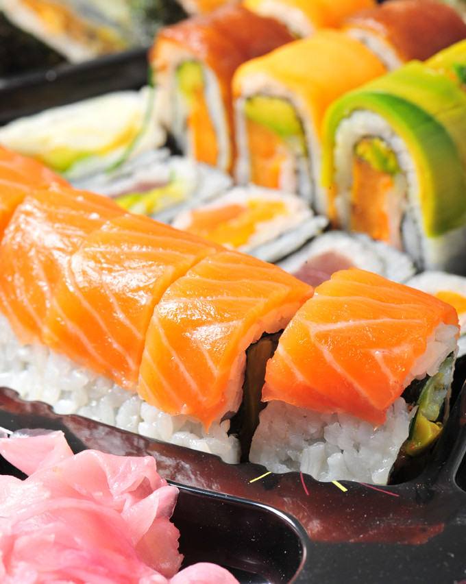 salmon sushi, interview, japan, interac