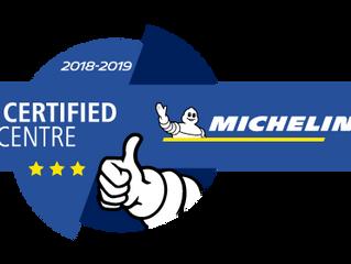 Banden de Condé behaalt opnieuw het Michelin Certified Centre label.