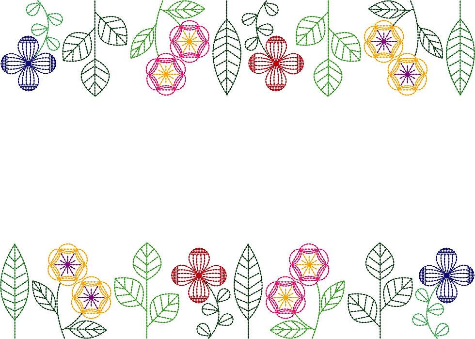 ミシン刺繡