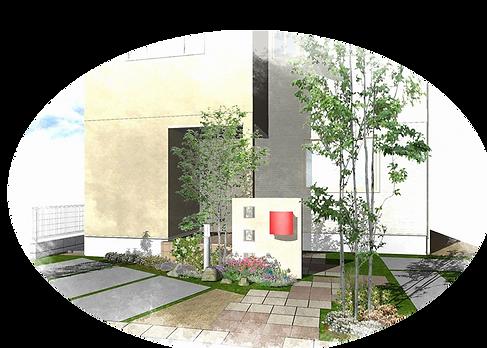 風水の庭づくり