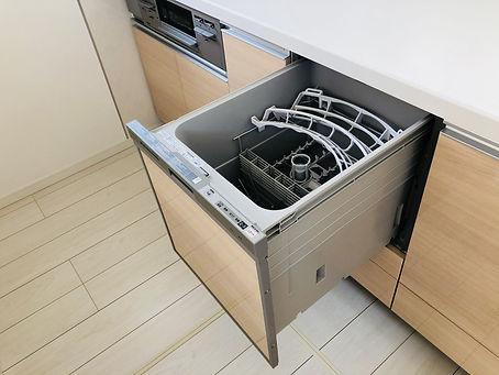 食洗器の設置