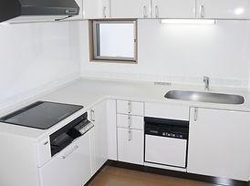 キッチンの工事改修