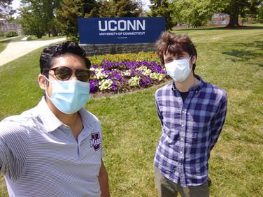 UConn visiting Ecohydrology Lab