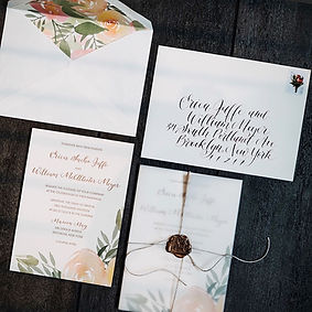 Envelope Calligraphy + Invitation Design