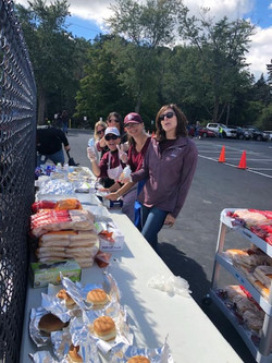 homecoming burger wrappers 2018