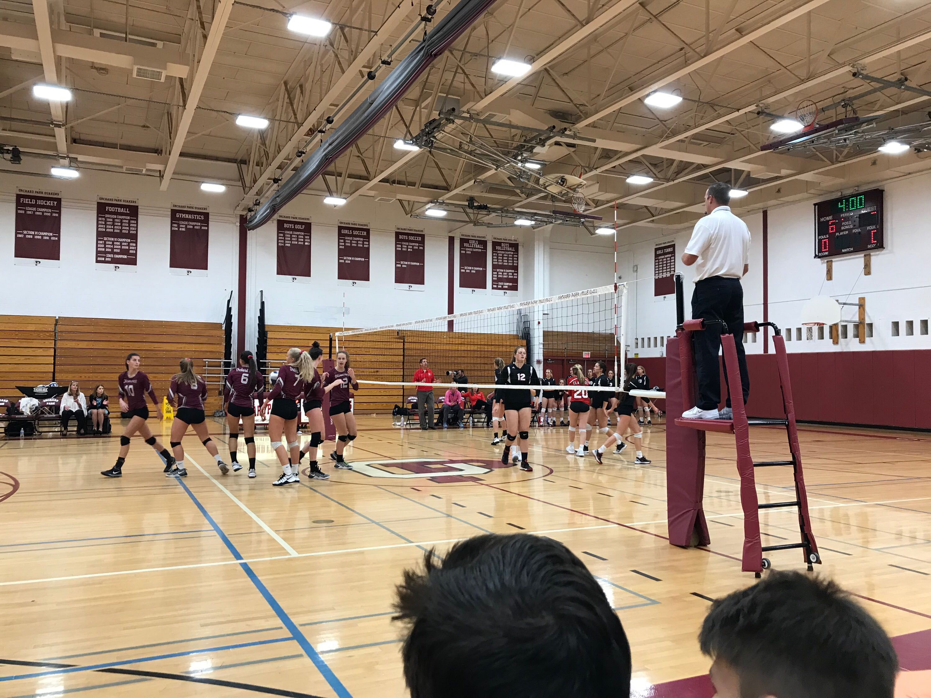 girls VB game 2017
