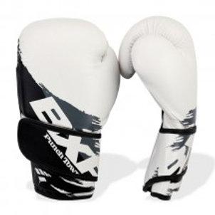 PunchTown BXR KR Boxing Gloves White/Black