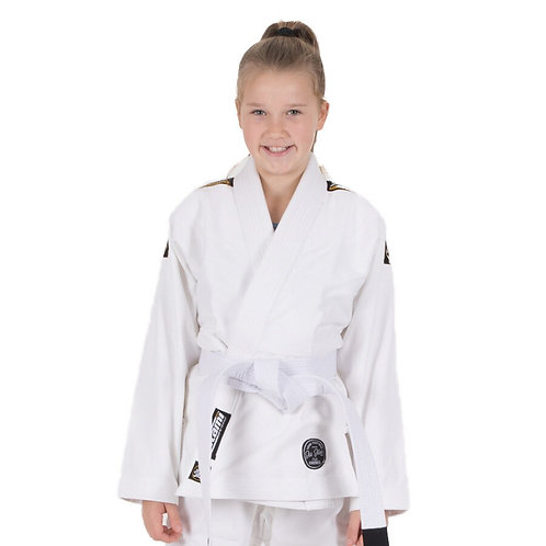 Tatami Fightwear Nova Absolute Kids BJJ Gi White m4