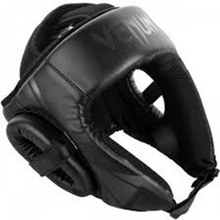 VENUM CHALLENGER OPEN FACE HEAD GUARD-BLACK/BLACK