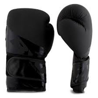 PunchTown BXR KR Boxing Gloves Black/Black 16oz
